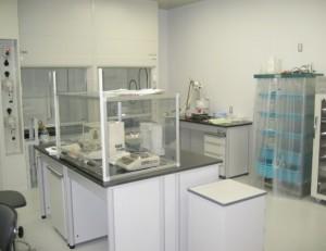 GMP棟2階 原薬中間体製造エリア