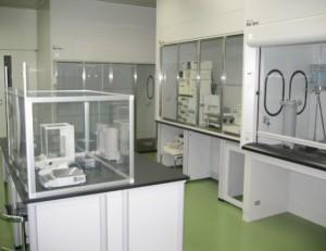 GMP棟2階 原薬製造クリーンエリア